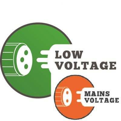 Low-mains voltage lights