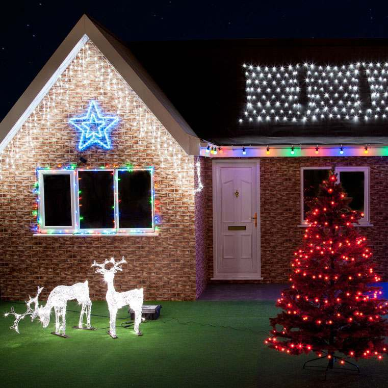 How to install christmas lights on a house related articles christmas aloadofball Choice Image