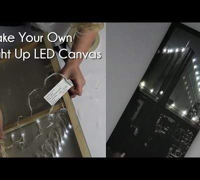 Make Your Own LED Canvas