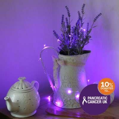 Purple Lights for Pancreatic Cancer
