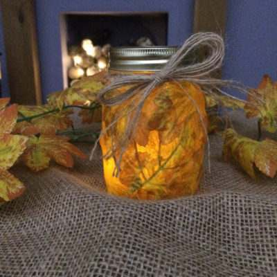 MYO Autumn Candle