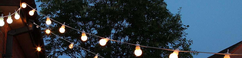 Festoon lights for your tree