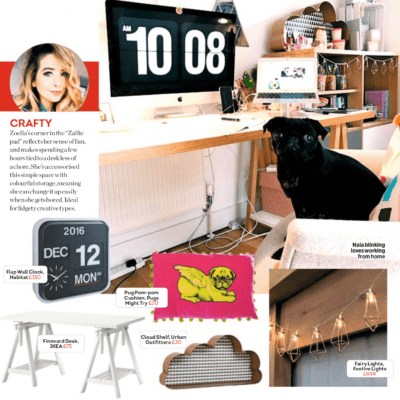 Heat Magazine - Desk Goals