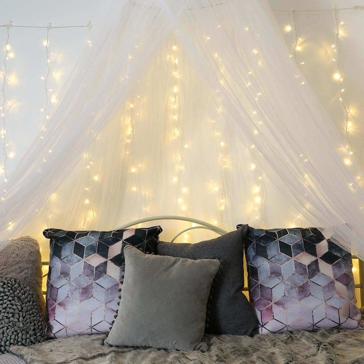 Bedroom Fairy Lights Ideas