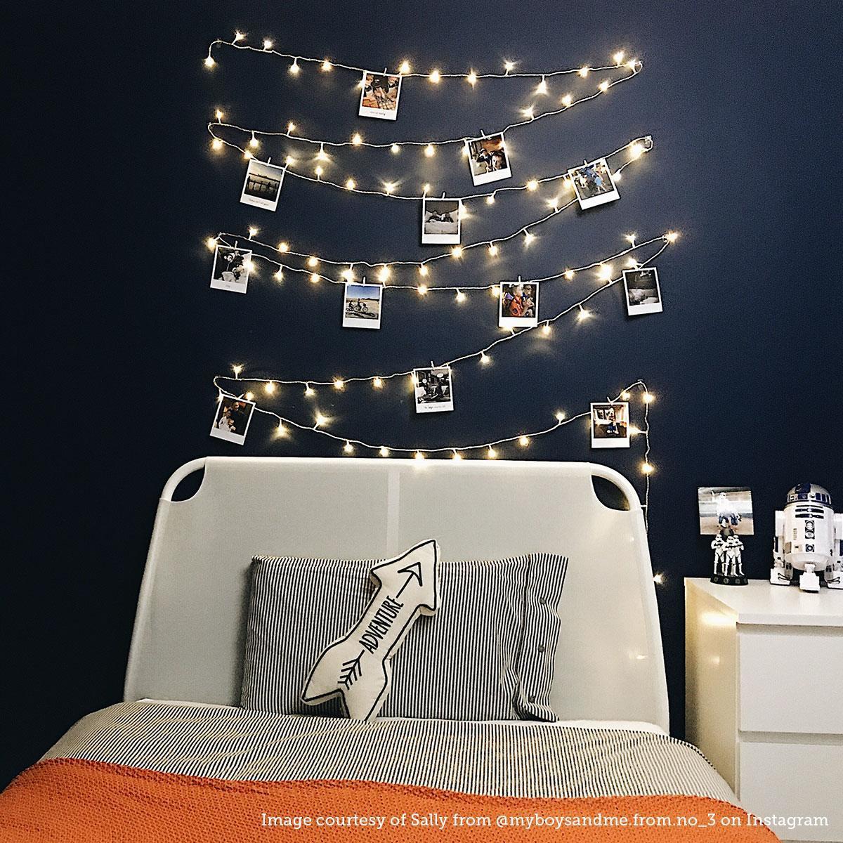 Bedroom Designs For Girls Bedroom Night Lights Bedroom Ideas White Bedroom Design Romantic: Bedroom Fairy Lights Ideas