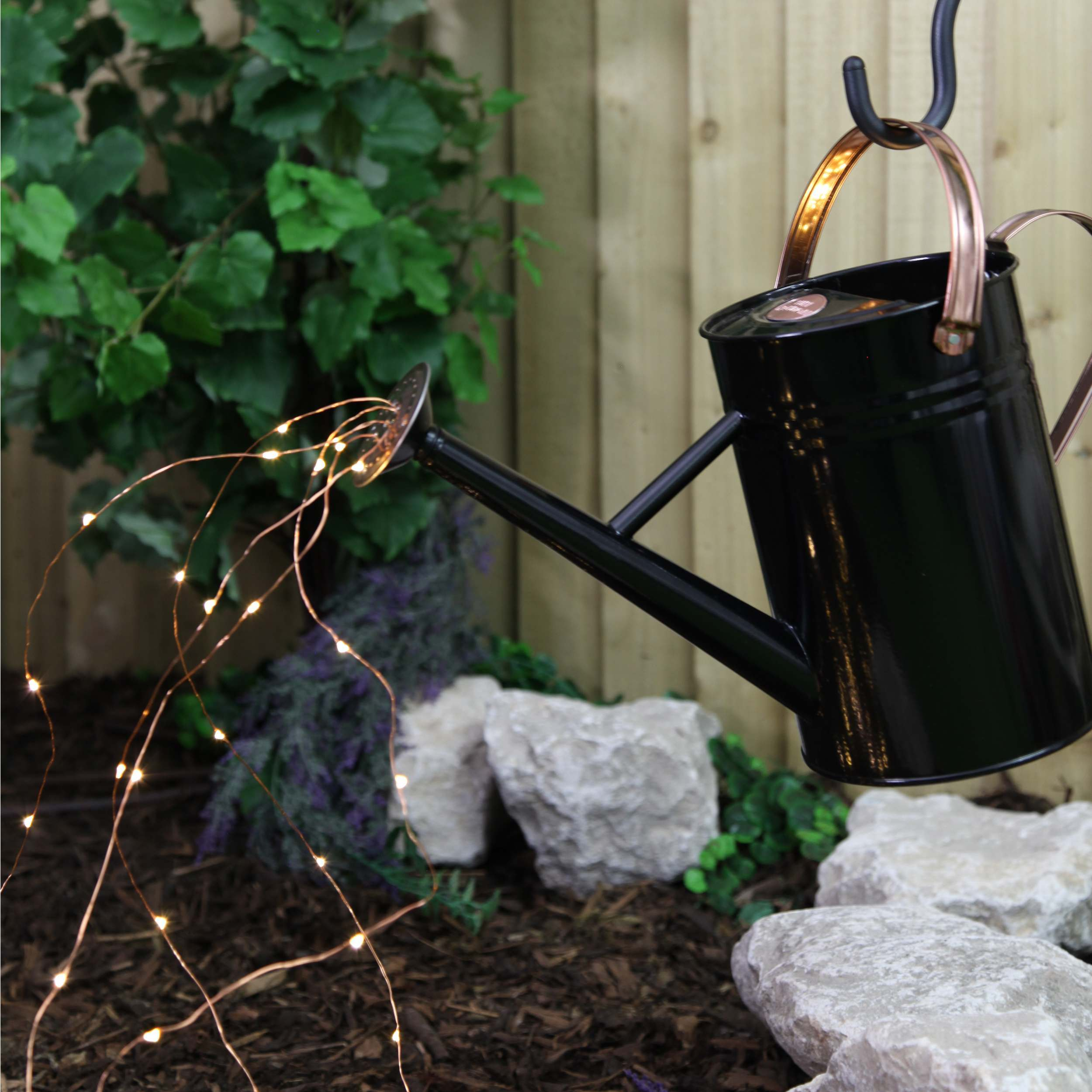 Make your own watering can light