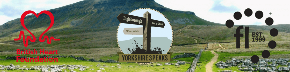 Festive Lights take on the Yorkshire 3 peaks for British Heart Foundation