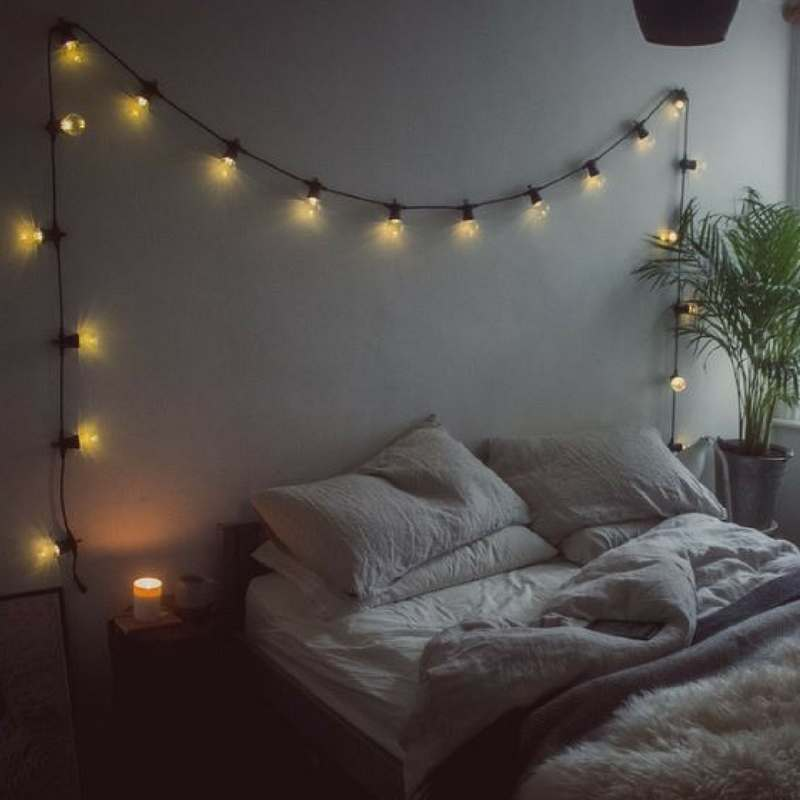 5 Ways To Make Your Bedroom Look Magical Using Fairy Lights