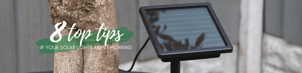 8 Things To Do If Your Solar Powered Lights Aren T Working